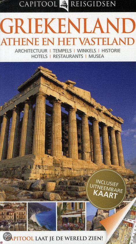 Capitool reisgids Griekenland Athene en het Vasteland