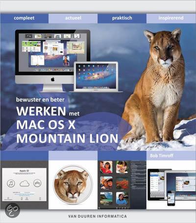 Bewuster en beter werken met Mac OS X Mountain Lion
