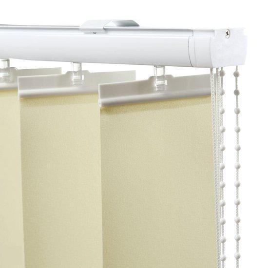 Lamellen 89mm vanilla 8 9x250 cm wonen - Badkamer kantelen ...