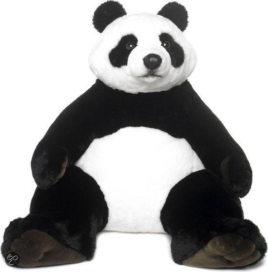 wwf panda zittend knuffel 100 cm wereld natuur fonds speelgoed. Black Bedroom Furniture Sets. Home Design Ideas