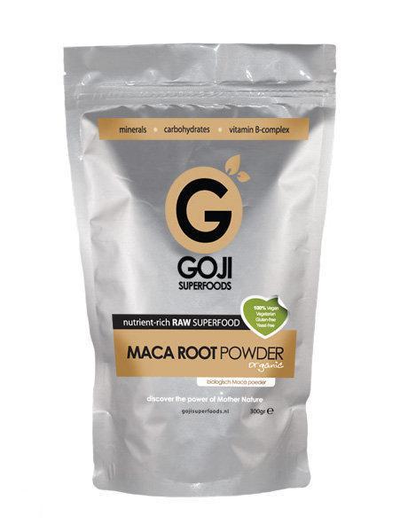 Goji Superfoods Maca poeder (biologisch/raw) 300 gr.