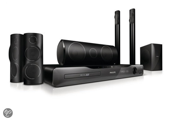 Philips HTS5581/12 - 5.1 Home cinema set