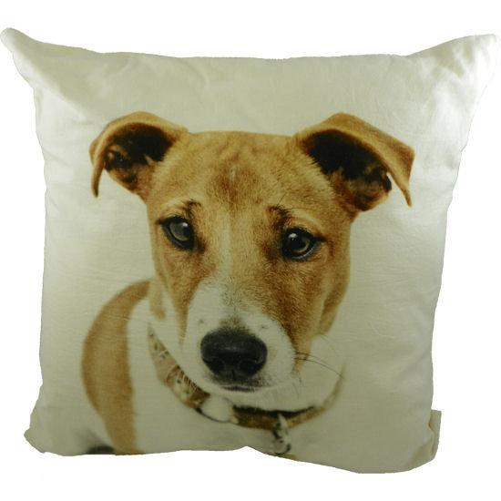 bol.com : Mars u0026 More Sierkussen kussen canvas hond jack russell ...