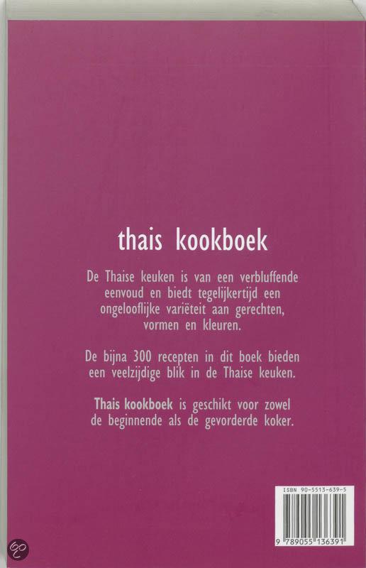 Engelse Keuken Kookboek : bol com Thais Kookboek, Fokkelien Dijkstra