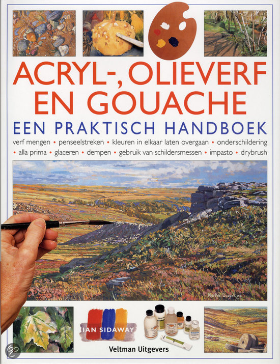 Acryl-, Olie- En Gouacheverf