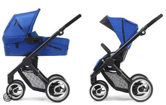 Mutsy EVO - Combikinderwagen Black Frame - Bright Blue