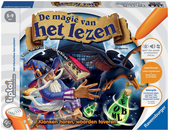 Ravensburger Tiptoi - De Magie van het Lezen