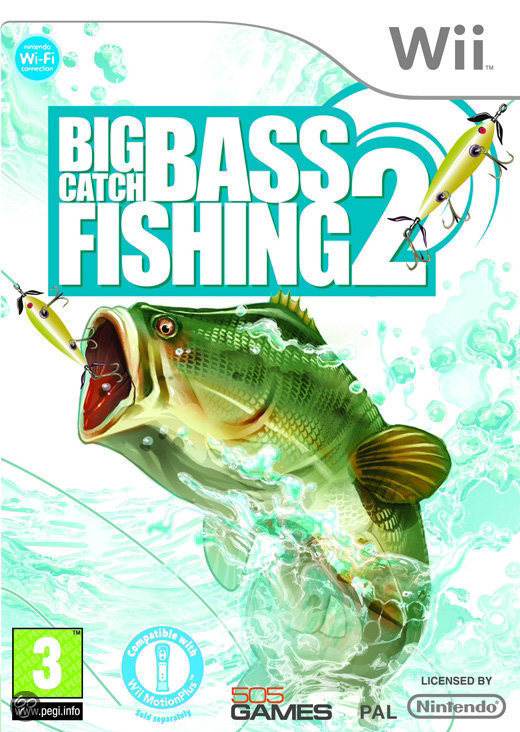 Big catch bass fishing 2 wii 505 games games for Ps4 bass fishing games