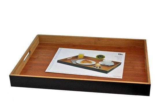Dsm Keukens Materiaal : bol com DSM Dienblad 35 x 50 x 5 cm Bamboe
