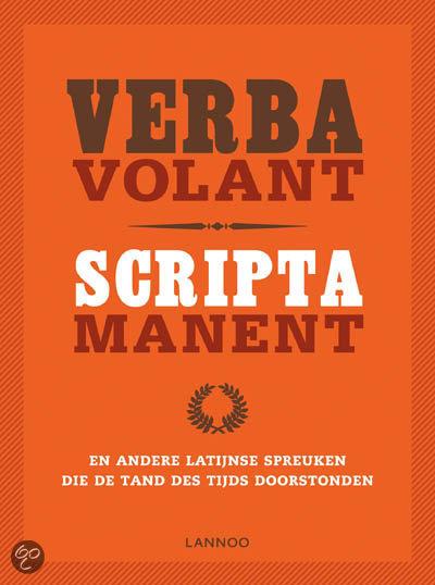 Bekende Latijnse Citaten : Verba volant scripta manent gratis boeken downloaden in