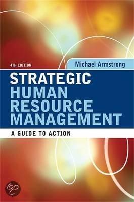 literature review on strategic human resource management