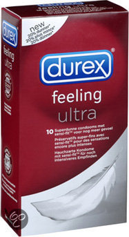 Durex Feeling Ultra - 10 stuks - Condooms