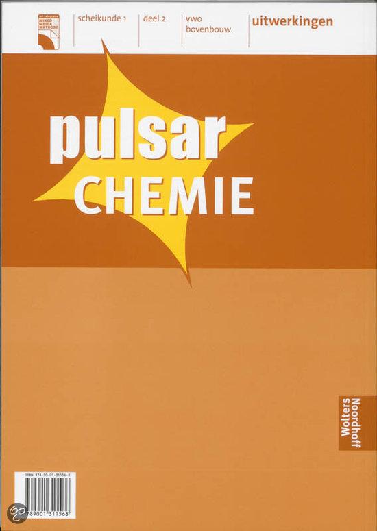 Pulsar chemie 2 vwo bovenbouw deel uitwerkingen