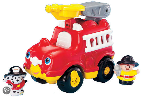 Fisher-Price Little People Brandweerwagen