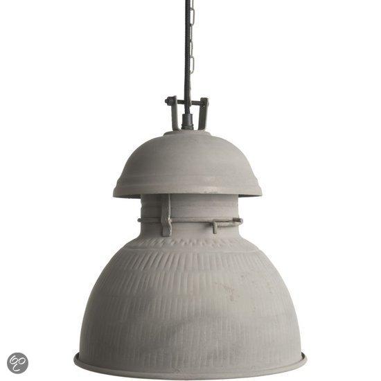 HKliving Warehouse M Hanglamp - Grijs