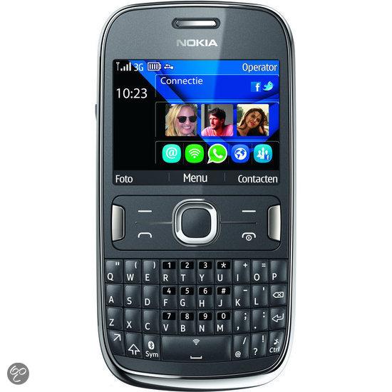 Nokia Asha 302 - Grijs