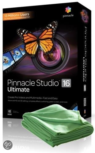 Pinnacle Studio 16 Ultimate - Nederlands / Frans