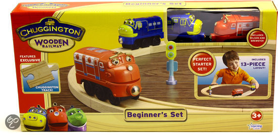 Chuggington Hout - Beginners Set