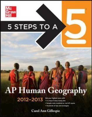 bol.com | 5 Steps to a 5 Ap Human Geography, 2012-2013 Edition (ebook