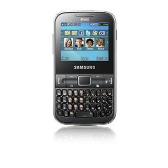 Samsung Chat 322 (C3222) - DualSIM - Noble Black