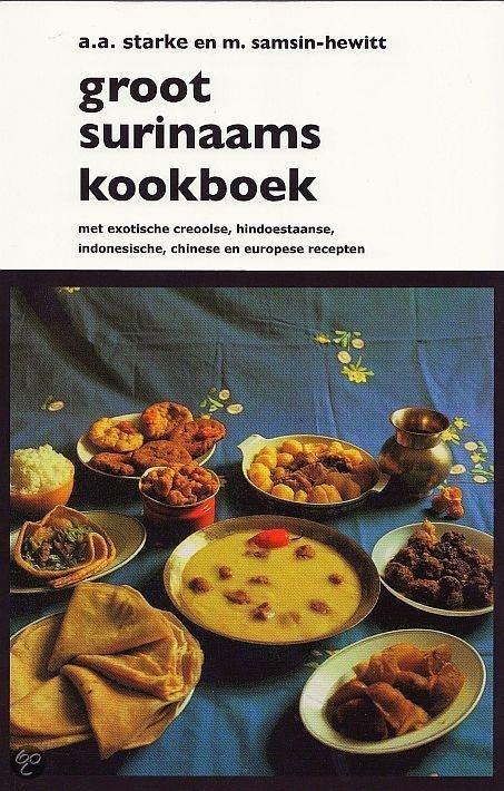 bol com Groot Surinaams kookboek, A A Starke & M Sam