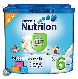 Nutrilon 6 - Peuter Plus Groeimelk 400 gram