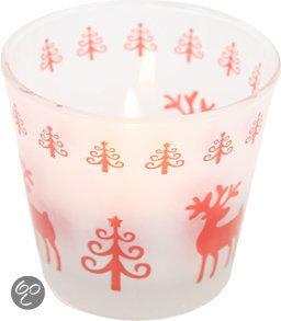 Decostar Rendier/Boom Waxinelichthouder Kerst - Large