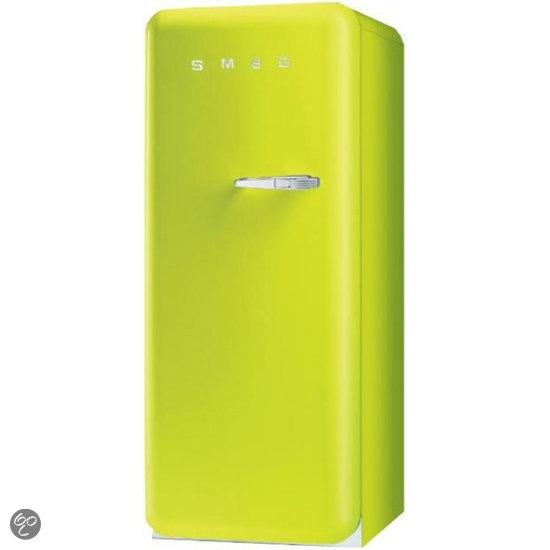 Smeg fab28lve1 koelkast groen elektronica - Koelkast groen ...