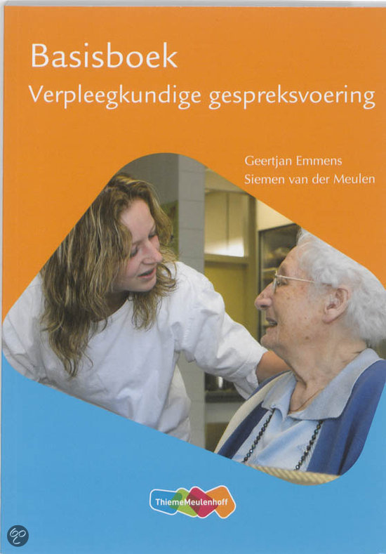 Verpleegkundige gespreksvoering / deel basisboek