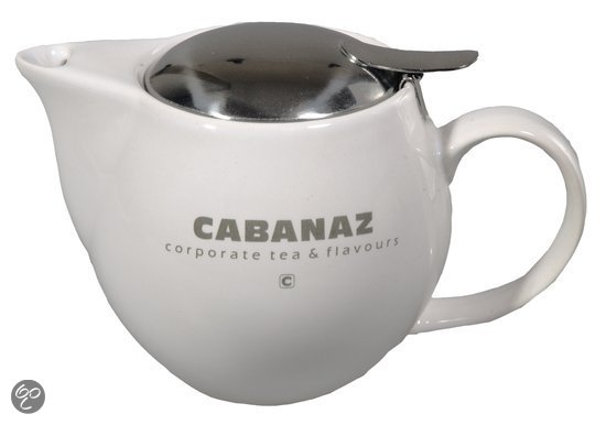Cabanaz Theepot - Wit