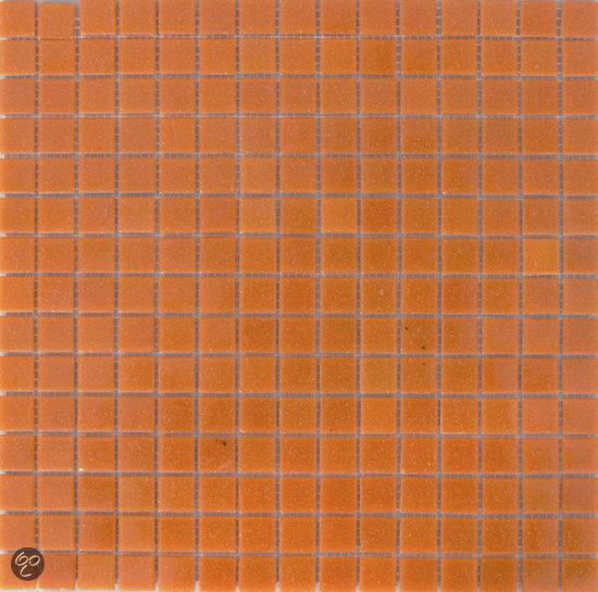 Alberello mozaiek glas oranje 2 0x2 0x0 4 cm oranje prijs per 1 37 m2 - Deco mozaieken badkamer ...