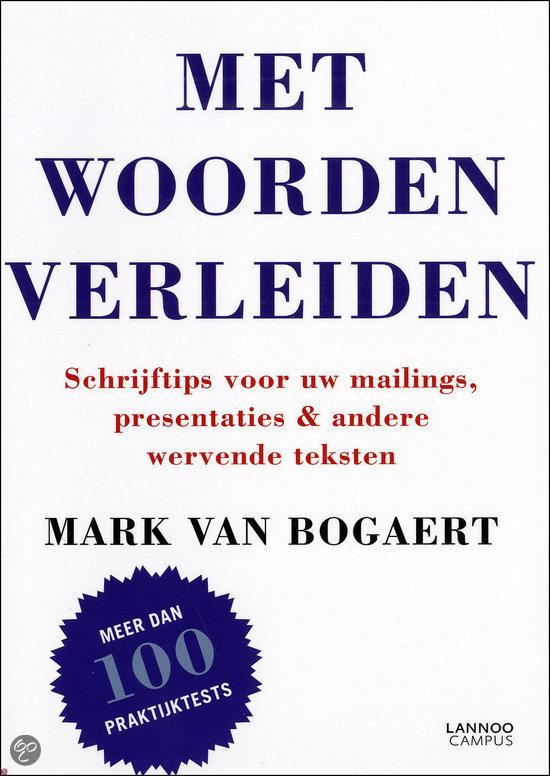 Engelse Keuken Woorden : bol.com Met woorden verleiden, Mark Van Bogaert & Bogaert, Mark van