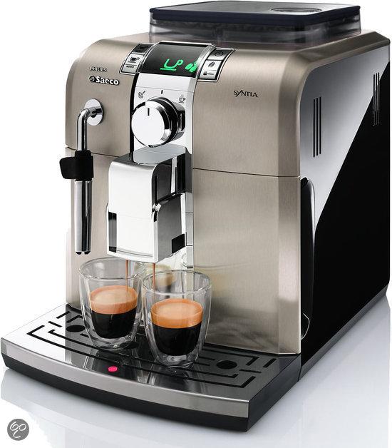 Saeco Syntia HD8836/11 Volautomaat Espressomachine