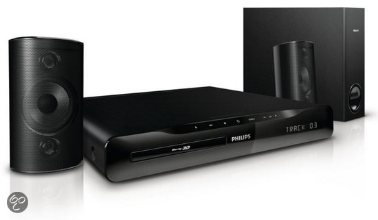 Philips HTS3261/12 - 2.1 Home cinema set - Blu-ray