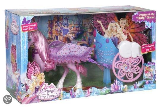 Barbie eenhoorn koets mattel speelgoed - Carrosse barbie ...