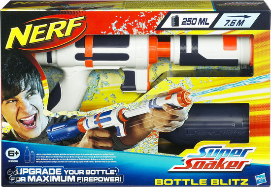 Super Soaker Bottle Blitz
