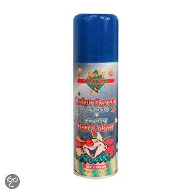 Haarspray blauw in Veendijk