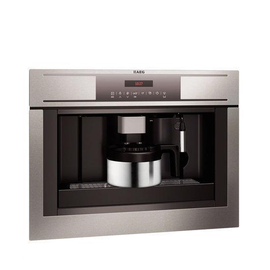 aeg inbouw koffiezetter nis 45 cm pe4511 m elektronica. Black Bedroom Furniture Sets. Home Design Ideas