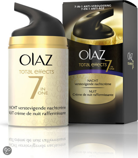 Olaz Total Effects Verstevigende - Nachtcrème