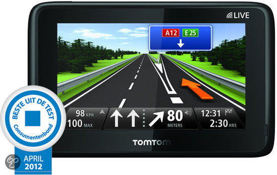 TomTom GO 1000 Europa - 45 Landen - 1 Jaar Live Services