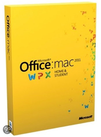 Microsoft Office Mac Home and Student 2011 - 1 Licentie / Engels