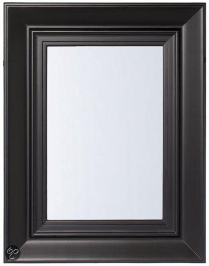 Riverdale paris rechthoek spiegel zwart for Spiegel 70x90