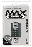 Datel Max Memory Card 32 MB & 10 Retro Games PS2