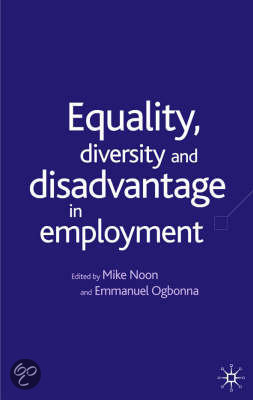 managing diversity in employement Managing employees  workplace policies and procedures  a policy may also be required where there is a diversity of interests and preferences,.