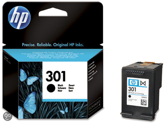 HP 301 - Inktcartridge / Zwart