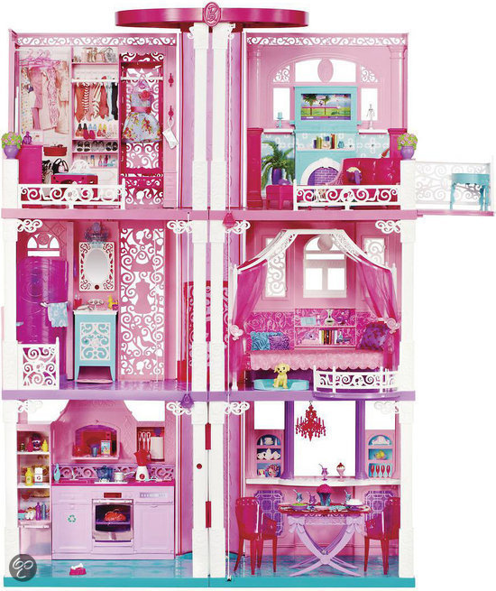 barbie droomhuis barbie meubel mattel speelgoed