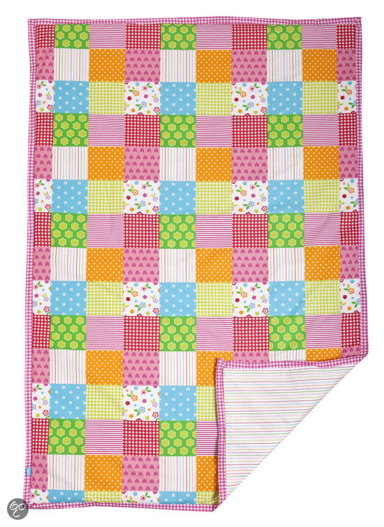 Lief! Lifestyle Patchwork - Speelkleed Meisje 120x150 cm