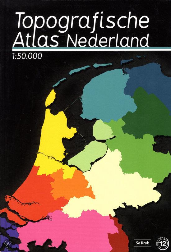 Topografische atlas van Nederland