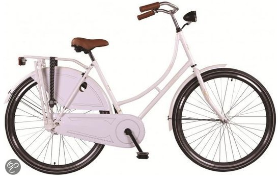 Altec London - Omafiets - 56 cm - Wit