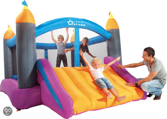 Big Castle Jump and Slide